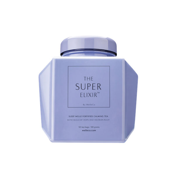 THE SUPER ELIXIR SLEEP WELLE CALMING TEA Caddy  50 bags