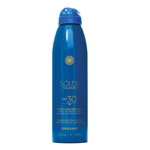 Soleil Toujours - Organic Sheer Sunscreen Mist SPF 30