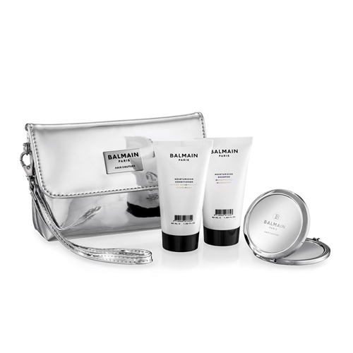 Balmain Hair Couture - Cosmetic Bag Silver