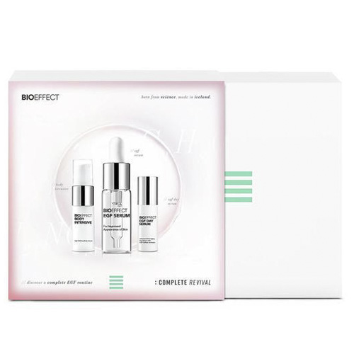 Bioeffect - EGF Serum + minitalla serum día + minitalla serum body