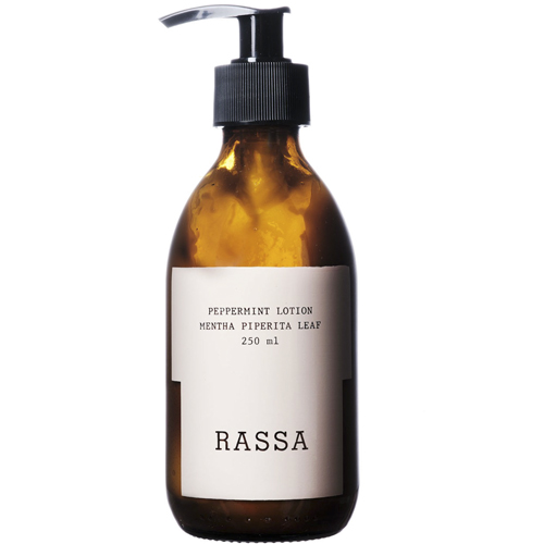 Rassa Botanicals . Peppermint Lotion