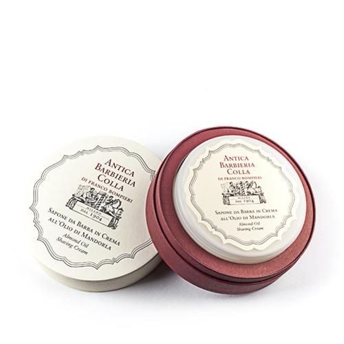 Antica Barbieria Colla - Sapone da Barba in Crema  All- Olio di Mandorla