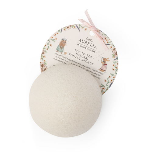 Aurelia Probiotic - Top To Toe Natural Konjac Sponge