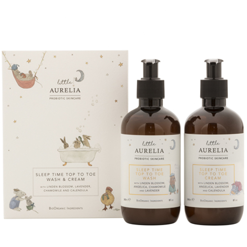 Aurelia Probiotic - Sleep Time Top To Toe Wash & Cream Duo