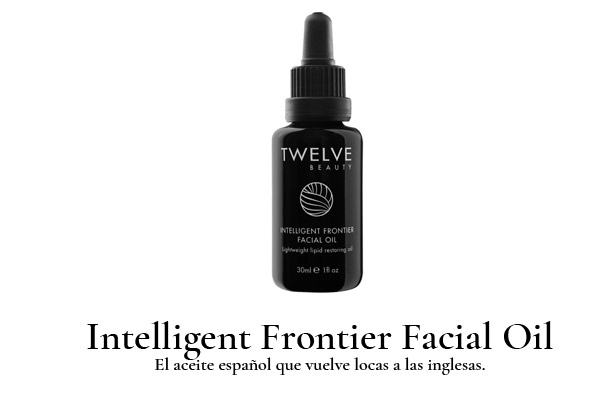 twelve intelligent frontier facial oil